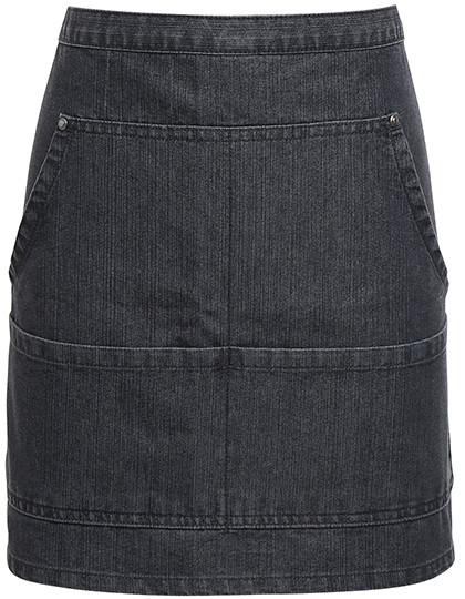 PW125 Premier Workwear Jeans Stitch Denim Waist Apron